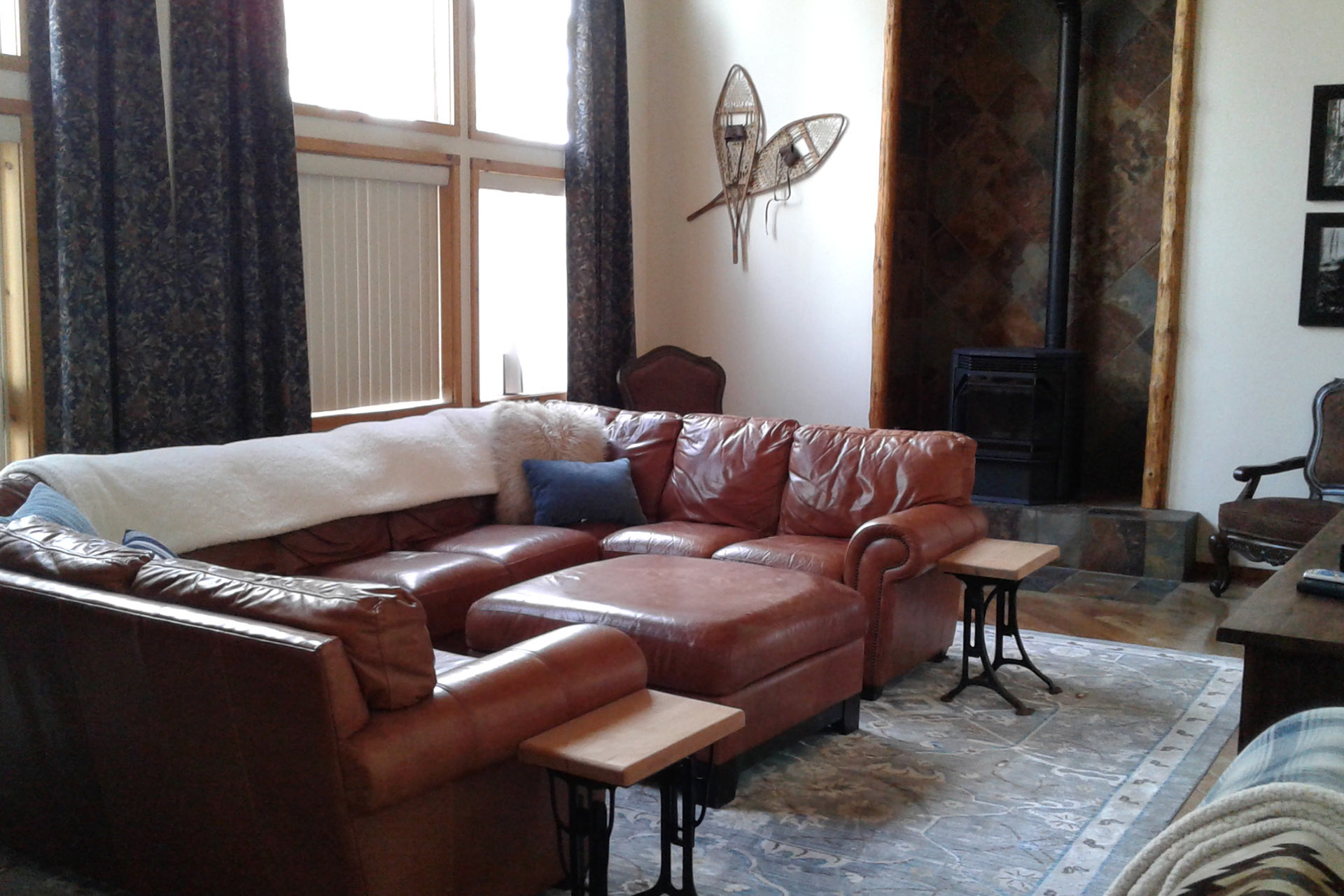 Seating area in the residence